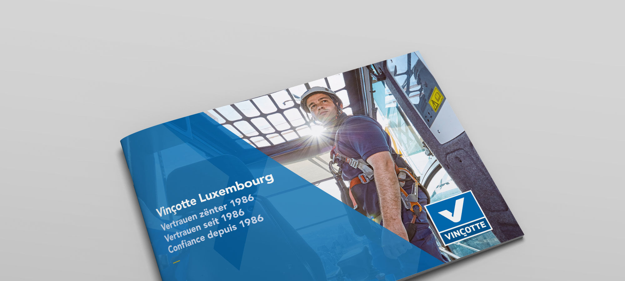 Vincotte Luxembourg Imagebroschuere Cover